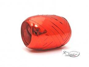 Stuha vázací metal 5mm/20m - červená