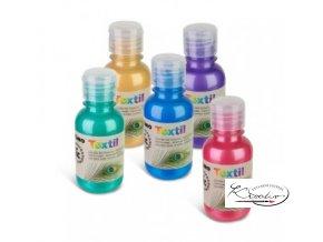 Barva na textil Primo 125ml - Metalická fialová