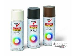 Prisma Color Acryl Lack spray 91004 - Černá matná