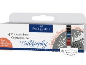 Popisovače Pitt Artist Pens Calligraphy 4
