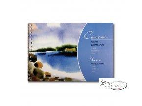 Akvarelový blok Sonnet A4 / 300 gm2 - 12 l.