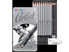 Grafitové tužky umělecké Colorino Artist 12ks