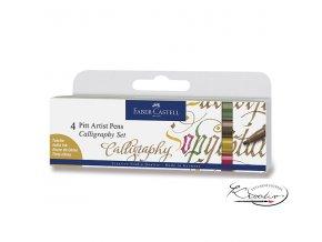 Popisovače Pitt Artist Pens Calligraphy II. 4