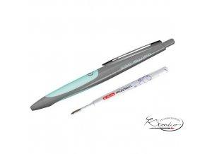 Kuličkové pero my. pen - Aqua / šedá