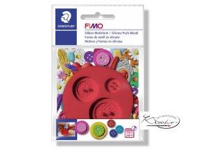 FIMO Silikonová vytlačovací forma - Knoflíky