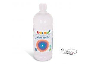 Akrylová barva Primo 1000 ml -  bílá