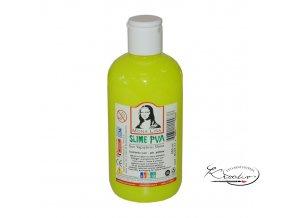 Tekuté barevné lepidlo 250 ml FLUO - vhodné pro výrobu slizu!