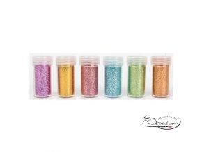 Dekorační flitry - třpytky sypané  6 x 10 g