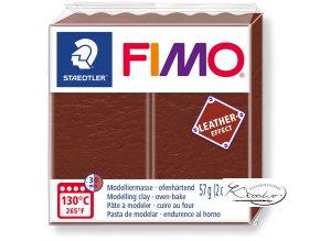 Fimo Effect Leather - 779 oříšková