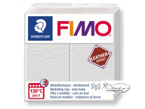 Fimo Effect Leather - 029 slonovinová