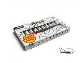 Akrylové barvy Studio Acrylic Pébéo 10 x 20ml