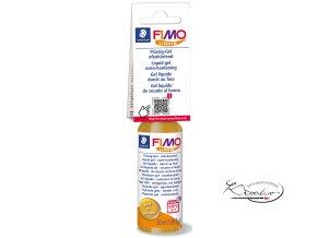 FIMO LIQUID Deco gel 50 ml - zlatý