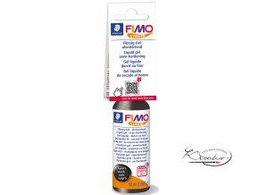 FIMO LIQUID Deco gel 50 ml - černý