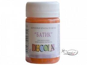 Akrylová barva na hedvábí Deco Batik 50 ml - 315 Orange