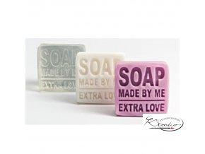 Razítko na výrobu mýdla Extra love 5 x 5 cm
