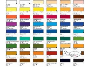 Olejová barva Ladoga 46 ml - jednotlivě