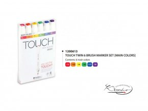 TOUCH Twin Marker - Main Colors 6