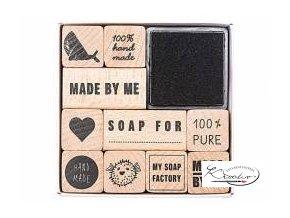 Razítka mýdlový set 10 ks