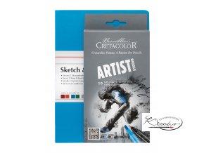 Skicovací sada Cretacolor