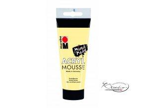 Akrylová pasta Mousse 100 ml - Vanilka