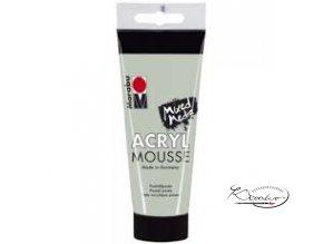 Akrylová pasta Mousse 100 ml - Zelené jmelí