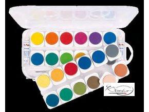 Akvarelové barvy PRIMO 12 x 30 mm
