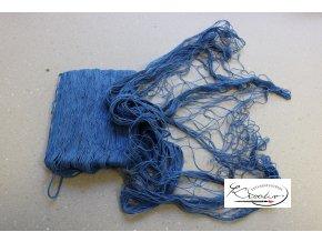 Dekorativní rybářská síť - Modrá