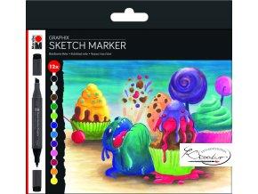 Sketch Marker Graphix 12