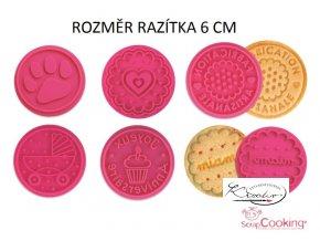 Razítka na sušenky Stampo Cookies