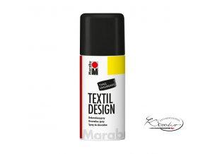 TextilDesign spray 875 tabulová černá