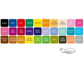 Popisovač Monami 3000 Plus Pen fine - Red