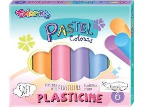 Modelovací hmota Colorino Pastel 6