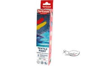 Barvy na textil Toy Color 6 x 25 ml