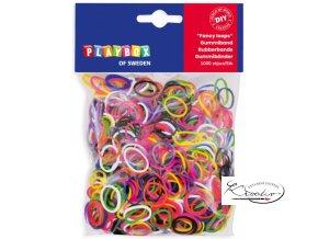 Gumičky Loops - mix barev - 1000 ks