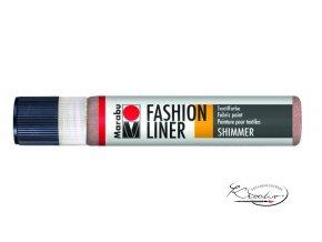 Fashion Liner Glitter - 580 Růžové zlato