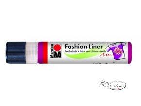 Fashion Liner Glitter - 505 Malinová