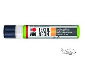 Textilní liner - 365 Neon zelená