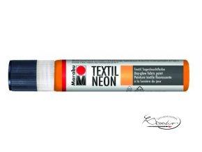 Textilní liner - 324 Neon oranžová