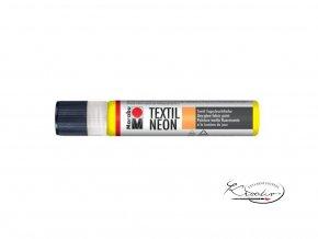 Textilní liner - 321 Neon žlutá