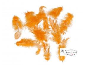 Peříčka 10g - mandarinková