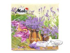 Ubrousek 33 x 33 cm / 20 ks - Blooming Lavander Cream