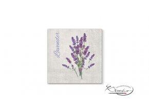 Ubrousek 33 x 33 cm / 20 ks - Lavender