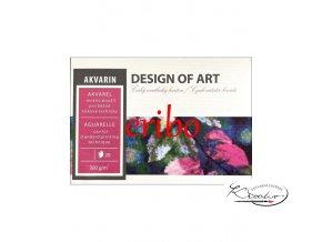 Akvarelový blok A4 Akvarin