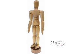 Dřevěná figurína - manekýn 20 cm