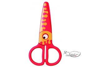 Dětské nůžky plastové - Krab