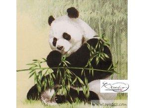Ubrousek 33 x 33 cm / 20 ks - Panda