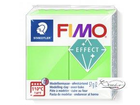 FIMO NEON EFFECT - 501 neon zelená
