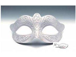 Maska karnevalová 15,5 cm - Romantic