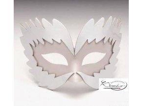 Maska karnevalová 18,5 cm - Wind