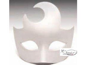 Maska karnevalová 16,5 cm - Lune